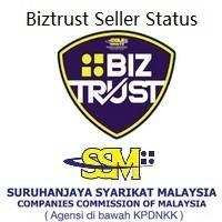 Biztrust Status seller