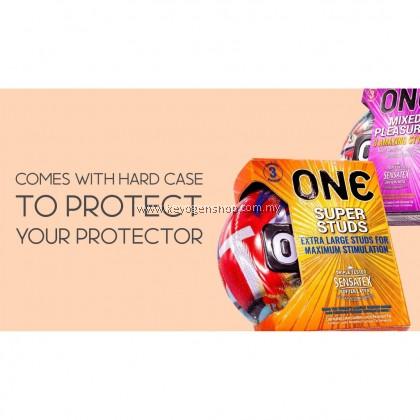 ( USA brand ) ONE CONDOM -1 PACK- true fit condom 3's - genuine - tested
