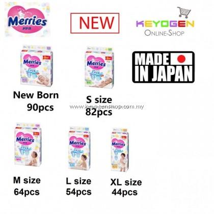 4 pack Merries tape diapers MADE IN JAPAN FREE 2 PCS DARLIE TOOTHBRUSH