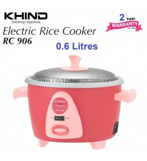 Khind Rice Cooker RC906 (0.6 Liter)
