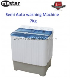Mastar MAS-707SWM 7KG Semi Auto Washing Machine-1 Year WRTY