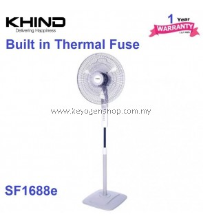 Khind 16'' Stand Fan SF1688E High Air Delivery - 1 Year Warranty