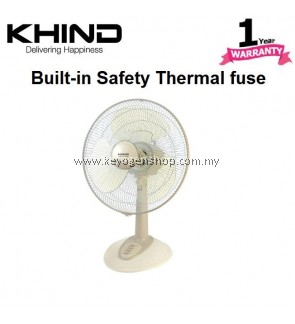 Khind table Fan TF1210 (1 Years Warranty) safety fuse