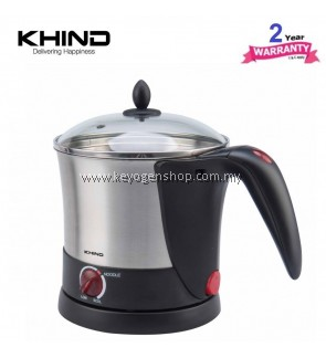 Khind Noodle Cooker MC10SS - 2 years warranty - stainless steel