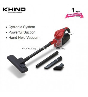 KHIND handheld Vacuum Cleaner Model VC8211 powerful suction