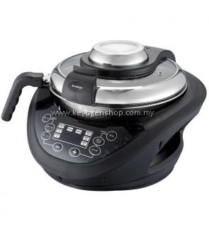 KHIND Stir Fryer FR358 With LED Timer - 2 years warranty