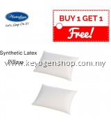 Free Shipping buy 1 free 1 Masterfoam Synthetic Latex Foam Pillow #MYCYBERSALE