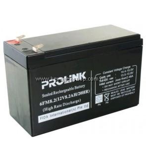 Mycybersale prolink 12V / 8.2AH VRLA SLA Battery - Alarm Autogate UPS