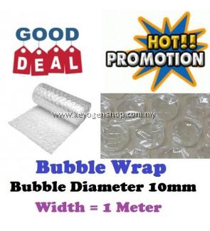 Bubble wrap super promotion - width 1 meter (option 1,5,10,15,20,50 M)