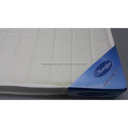 Free shipping 5 years warranty Premium Natural coconut fibre Baby mattress -FOC Baby Sock