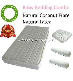 Free shipping Premium Gift for Newborn Baby - Certified Natural Mattress combo set