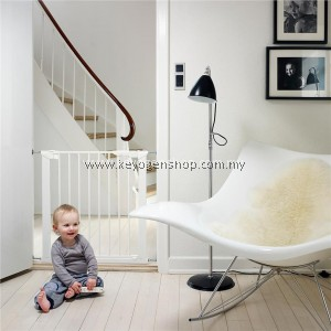Free Shipping Made in Denmark Promotion(Euro Safety) Baby Dan Premier baby gate - white