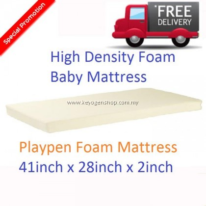 Free Shipping High Density Baby playpen Foam Mattress (41x28x2inch) kindergarten mat
