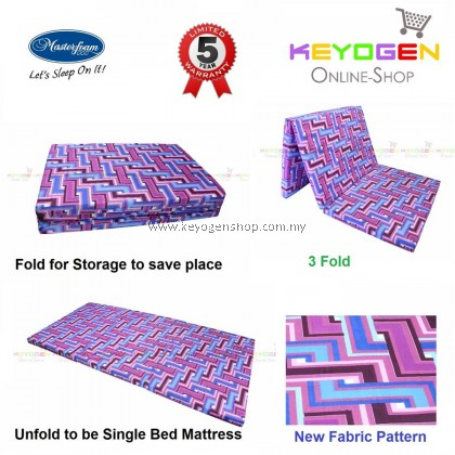 Free Delivery Masterfoam Foldable Foam Mattress with 5 years warranty