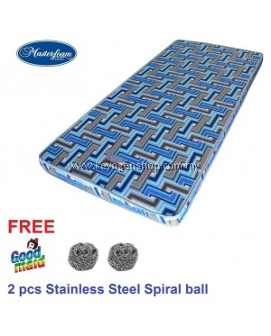 Free shipping Masterfoam 3.5' Single Mattress 5 years warranty free 2 spiral ball #MYCYBERSALE