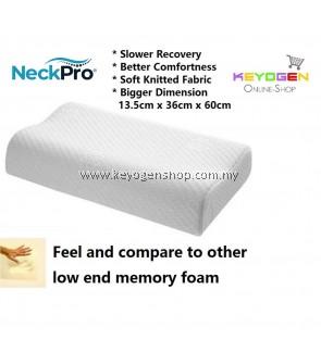 Free Shipping NeckPro Memory Foam Contour Pillow - premium grade - 1 year warranty