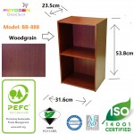 Free shipping keyogen 2 Tier wooden multipurpose Utility storage shelf #MYCYBERSALE