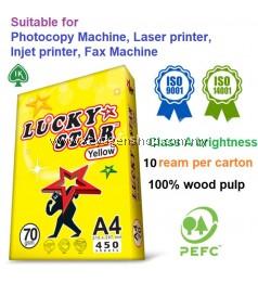 IK Lucky Star 10 ream per carton A4 copy paper 70 gsm luckystar