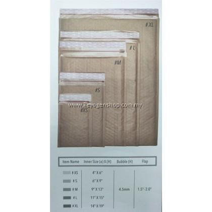 21pcs Secure Seal Bubble Wrap Envelope Mailer - XL Size