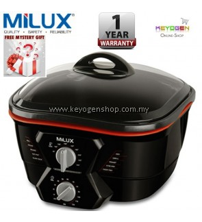 Milux 10-in-1 Multi Cooker MMC-1500 Boil, Steam, Braise, Hot Pot, Slow Cook, Fry, Grill, Roast, Stir Fry & Deep Fry - 1 Year Warranty