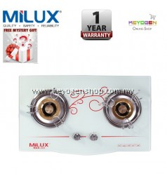 Milux Cooker Hob MGH-222 Tempered Glass - 1 Year Warranty