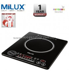 Milux Induction Cooker MIC-31P With 6 Preset Nutritional Cooking And 4 Cooking Function - 1 Year Warranty
