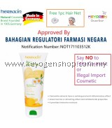 FREE SHIPPING HERBACIN(Made in GERMANY) Herbal Shower Gel – Camomile and Green Tea (200ml) FREE 1pc Hair Net #MYCYBERSALE