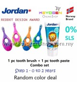FREE DELIVERY Jordan Step 1 Toothbrush 0-2 Years COMBO Toothpaste #MYCYBERSALE