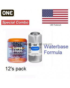 Free shipping ( USA brand) ONE Super Studs condom 12's Free waterbase lubricant #MYCYBERSALE