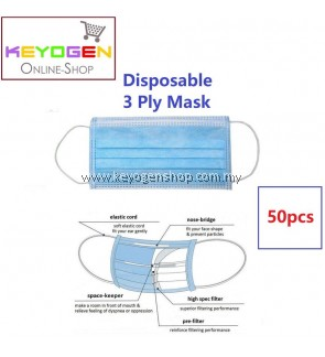 Free shipping 50pcs 3 ply Disposable Surgical Face Mask - ear loop - anti Haze #MYCYBERSALE