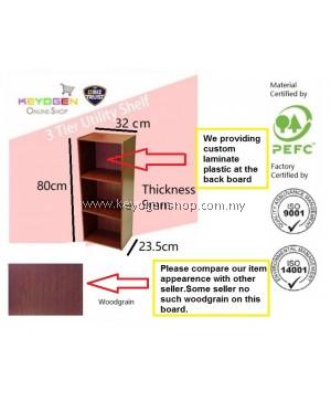 FREE SHIPPING 3 Tier wooden multipurpose Utility storage shelf organiser box rack #MYCYBERSALE