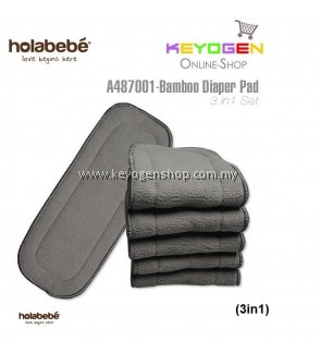 ( flash sale )Holabebe Bamboo Diaper Pad A478001 (3in1)