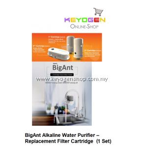 BigAnt (REPLACEMENT) Alkaline Water Purifier– Filter Cartridge (1 set)