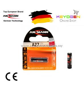 Ansmann Alkaline Battery A27 / LR27 - GERMAN TECHNOLOGY (1516-0001)