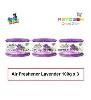 Goodmaid Air Freshener Lavender 100g x 3 Gel (3-in1)