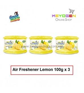 Goodmaid Air Freshener Lemon 100g x 3 Gel (3-in1)