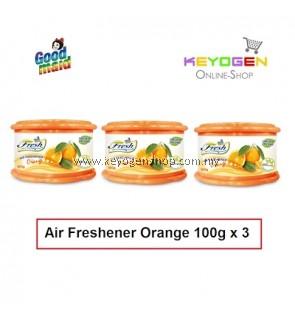 Goodmaid Air Freshener Orange 100g x 3 Gel (3-in1)