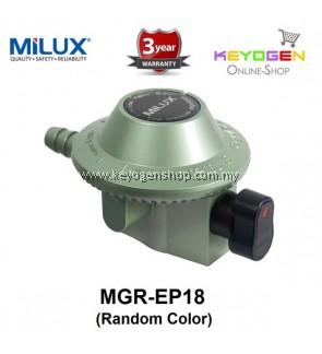 Milux Gas Regulator MGR-EP18  (Low Pressure) Full Zinc -3 years warranty