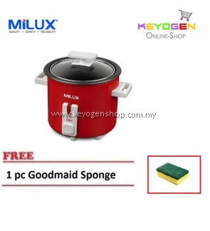 MILUX Classy Rice Cooker MRC-703 COMBO 1 pc Goodmaid Sponge