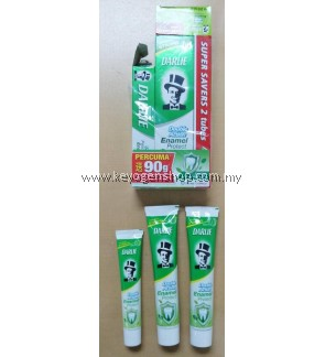 Darlie Toothpaste Double Action Enamel Protect Original Mint BUY 2 X 200g FREE 1 X 90g