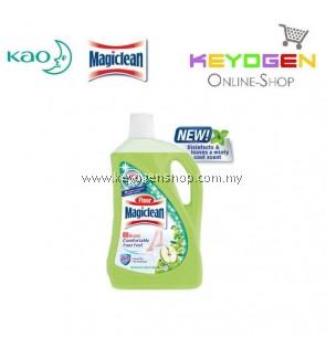 Floor Magiclean Cleaner Green Apple 2 Liters (1 Unit)