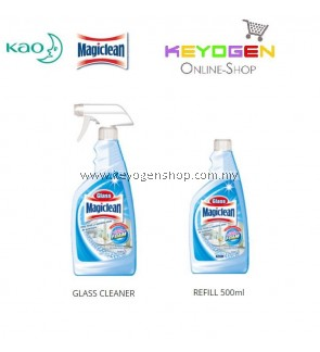 Glass Magiclean Cleaner Trigger + Refill Combo Pack
