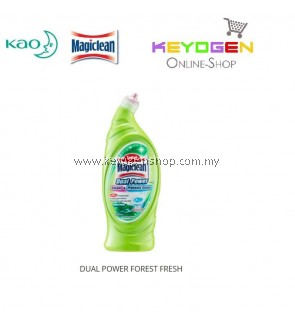 Magiclean Dual Power Toilet Cleaner Forest Fresh 650ml