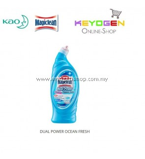Magiclean Dual Power Toilet Cleaner Ocean Fresh 650ml