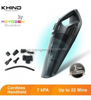 Khind Vacuum Cleaner VC9678 with multipurpose accessories - 1 Year Warranty