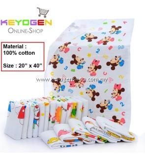 "PROMOTION! Baby Towel Keyogen Homie 1 Unit - 100% Cotton Soft Touch Baby Towel Bee Hive - Size : 20"" x 40"" (Random Design)"