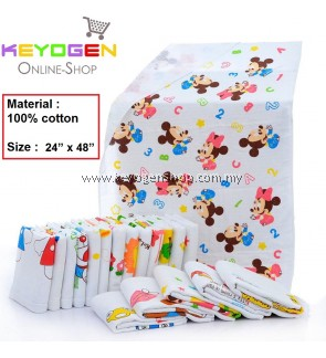 """PROMOTION! Kid Towel Keyogen Homie 1 Unit - 100% Cotton Soft Touch KidTowel Bee Hive - Size : 24"""" x 48""""(Random Design)"""