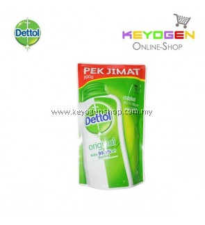Dettol Body Wash Original Refill Pouch Pek Jimat 1x800g