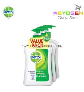 Dettol Hand Wash Original 250ml x 3 (Value Pack)