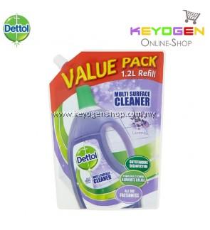 Dettol Lavender Multi Surface Cleaner Refill 1.2L - 1 Unit (Value Pack)